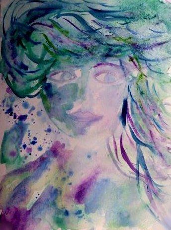 Blue mermaid 1