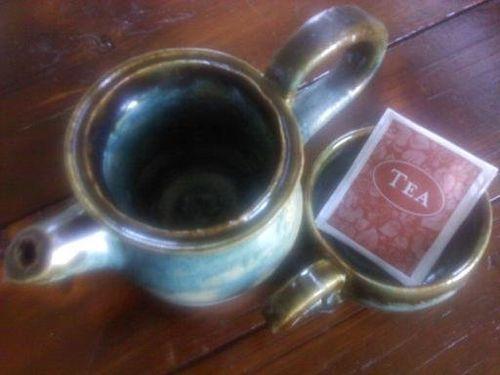 Tea and tea pot