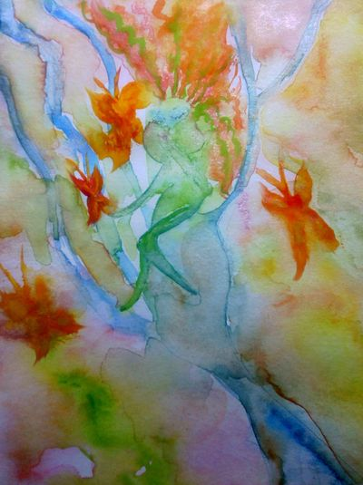 Kissing the butterflies goodbye 1